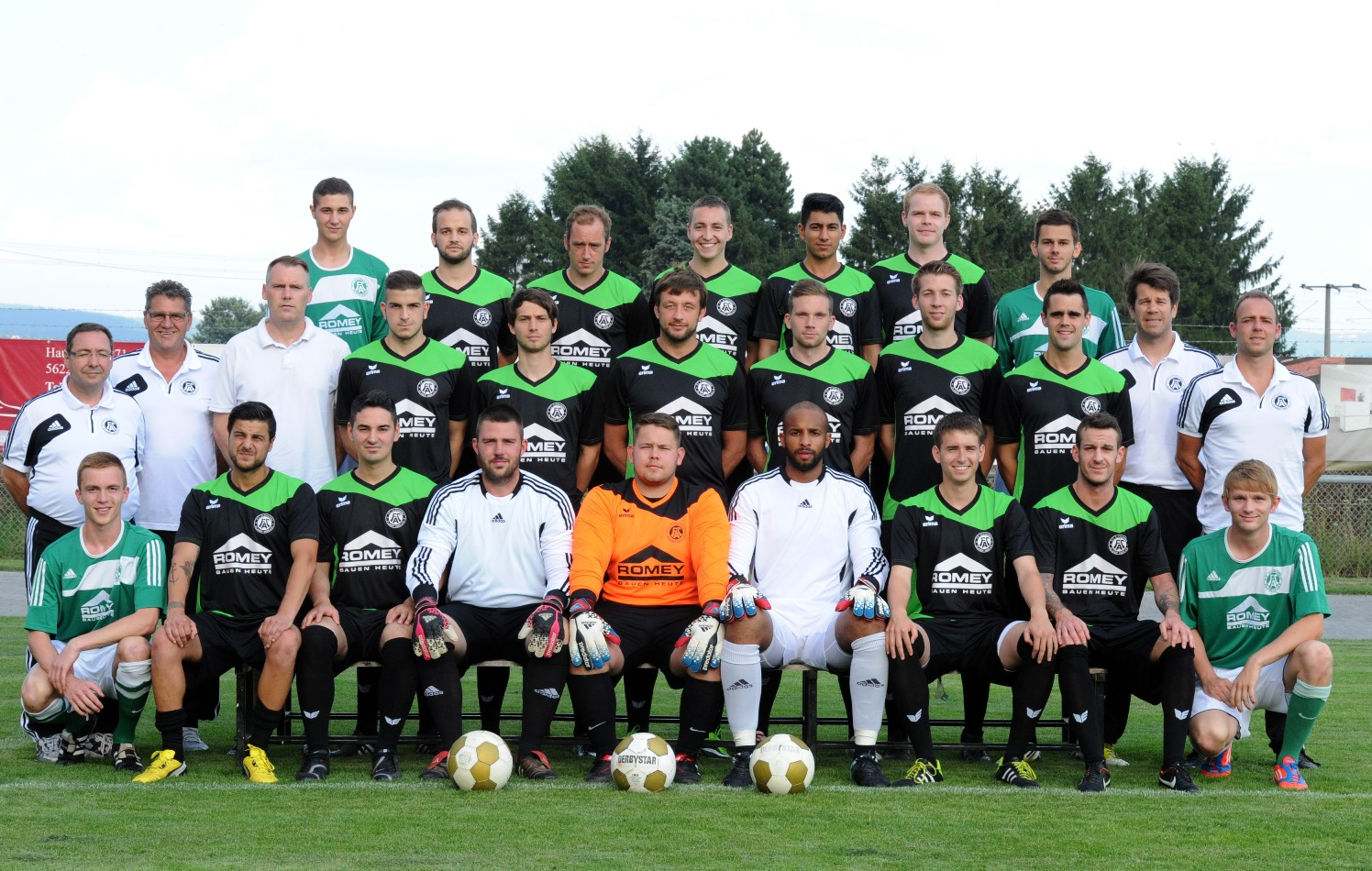 22.07.2014 Mannschaftsfoto FC Plaidt 2014/2015