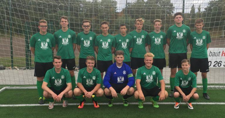 U 17 des FC Alemannia Plaidt startet mit souveränem Derby- Sieg